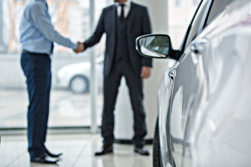 Buying a new and used car