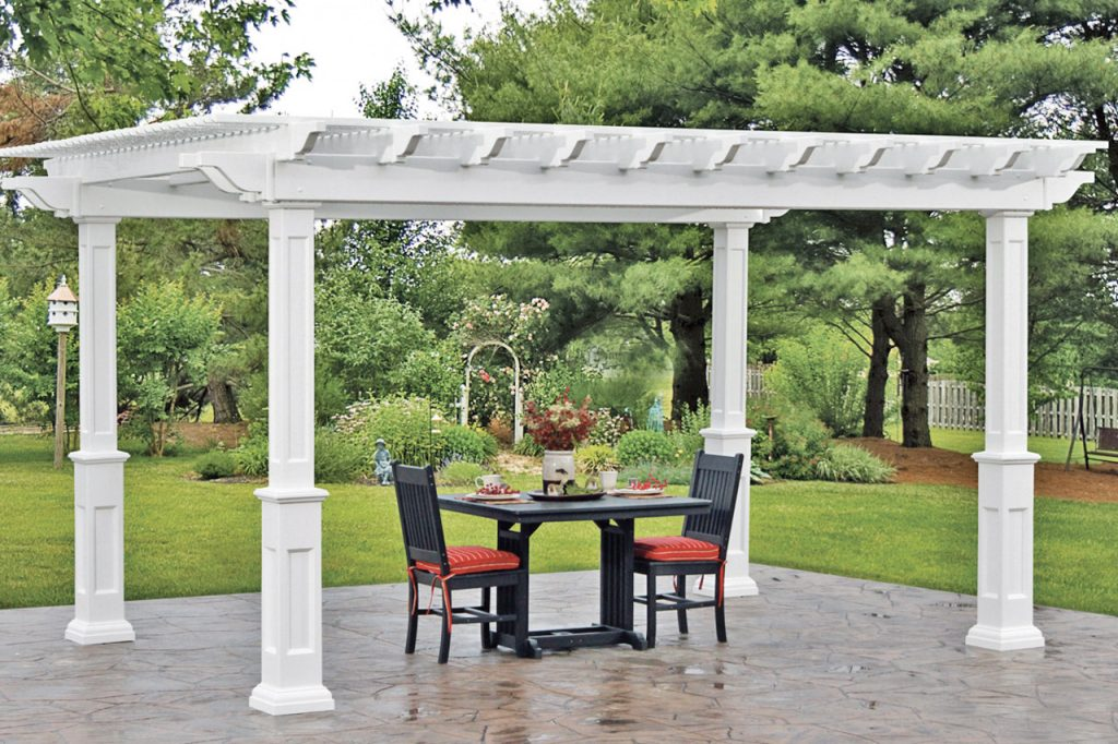 Decorating With Pergolas