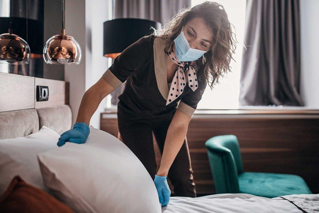 air sanitiser for hotels